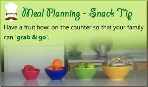Meal Planning Tip 1: Simple Snacks