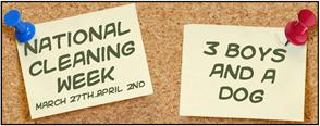 National Cleaning Week:  Bedrooms