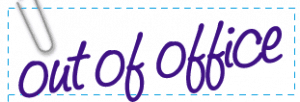 Homeschooling Notes: FedEx Out of Office Blog Craft Ideas