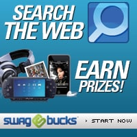 Search the web and earn prizes:  Mega Swagbucks Friday