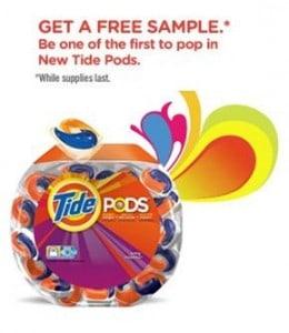 FREE: Tide Pods Sample
