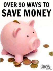 90+ Money Saving Tips