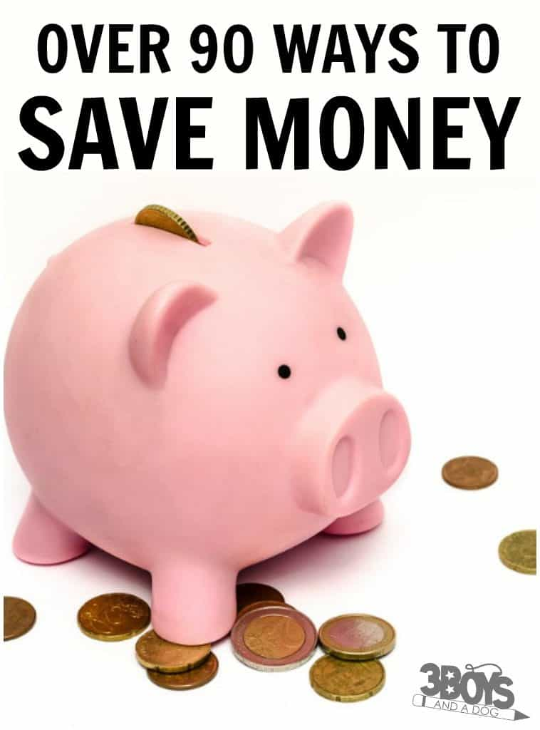 90+ Money Saving Tips