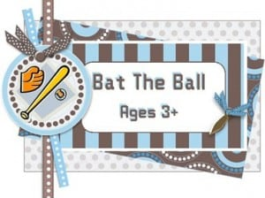 Child Development Activity #4: Bat The Ball