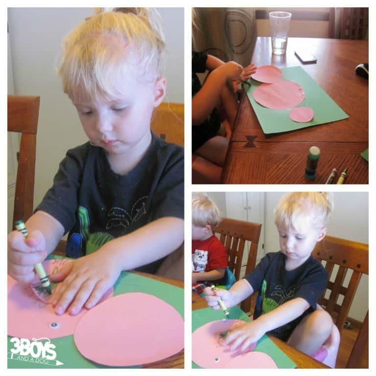 Circle Pig Craft