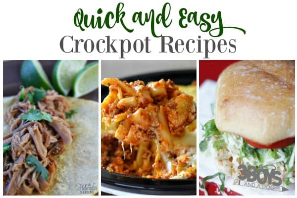 Quick Crockpot Recipes