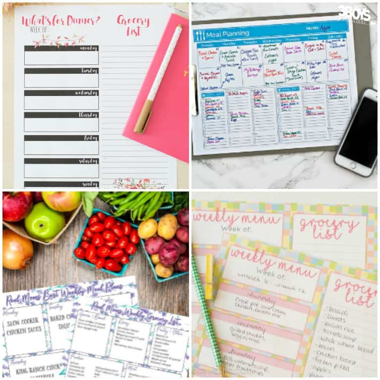 Simple Affordable Meal Plans for Families