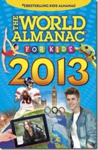GIVEAWAY:  The World Almanac for Kids 2013 #backtoschool