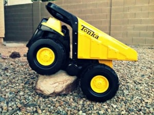 Having a Blast with Classic Tonka Steel! Review and Giveaway