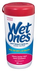 GIVEAWAY:  Wet Ones Back to School Germ Safety Kit