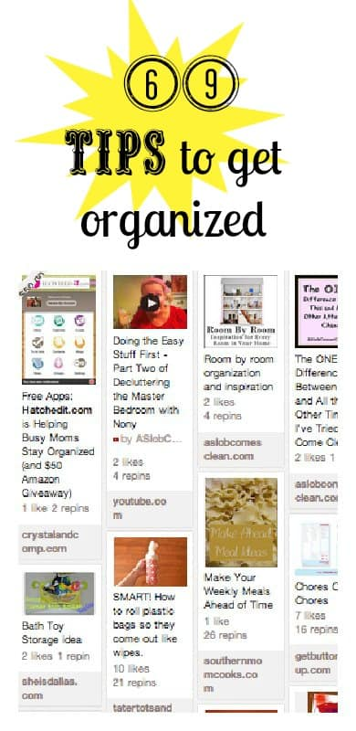 69 Getting Organized Tips 3 Boys And A Dog