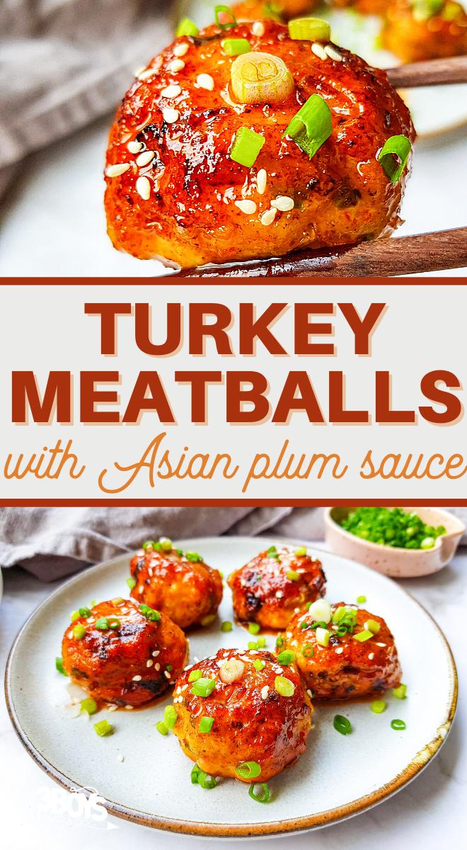 easy japanese turkey meatballs recipe