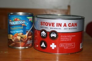 Giveaway:  Stove in a Can