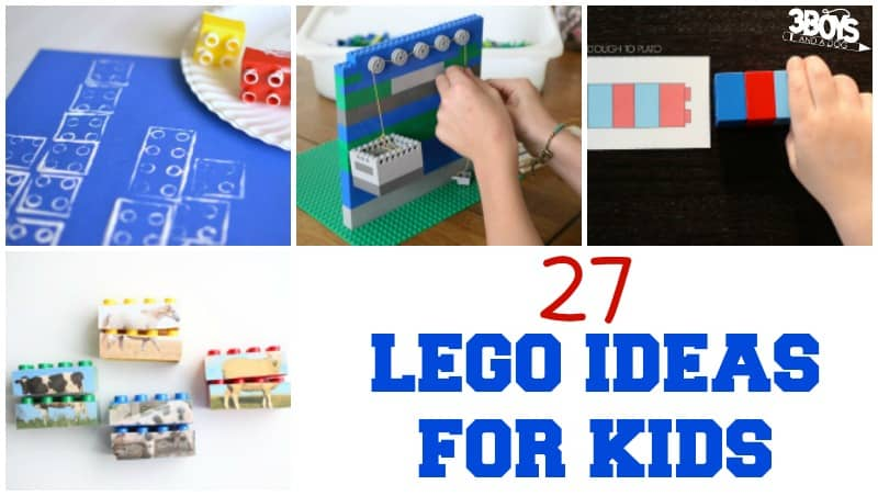 27 Lego Ideas for Kids to Try