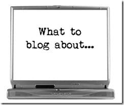 Blogging Basics:  15 Ways to Find New Content!