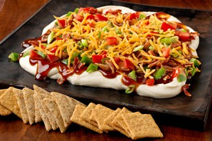 Triscuit BBQ-Bacon Party Spread
