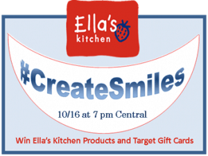 Twitter Party: Ella's Kitchen Sign Up To Win! #CreateSmiles