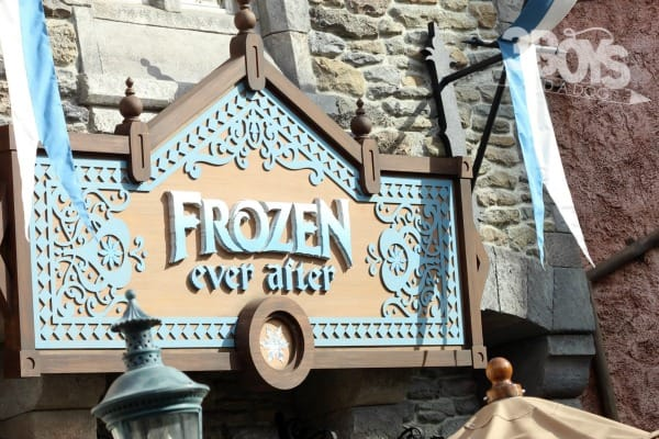 Frozen Ever After. A new edition that makes Epcot with kids fun.