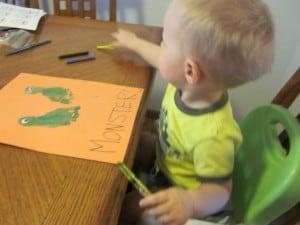 M is for Monster {Preschool Alphabet}