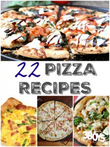 Pizza Recipes Roundup