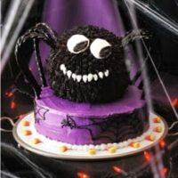 Spooky Spider Cake