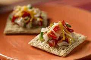 Triscuit Tex Mex Melts: Game Day Recipe