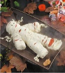 Halloween Recipe:  Yummy Mummy Cheese Spread