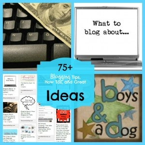 Pinterest Faves: Blogging Tips, How Tos, and Great Ideas