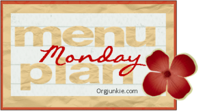 Menu Plan Monday:  Fall is in the Air!