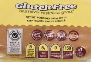 Giveaway:  Kinnikinnick Gluten-free Soft Breads