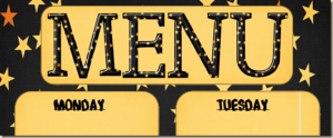 Menu Plan Monday: Free Halloween Menu Printable