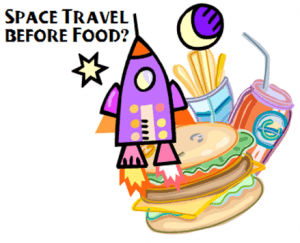 Food Is The Greatest Thing Since Space Travel!