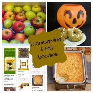 32 Thanksgiving and Fall Goodies