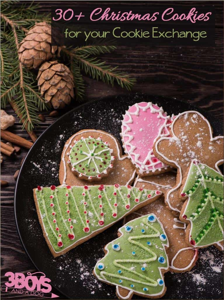 Cookie Exchange Ideas: Over 30 yummy Christmas Cookie Recipes