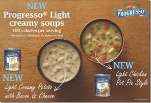 GIVEAWAY: Progresso Light Crème Soup Gift Pack #myblogspark