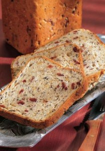 Wild Rice and Cranberry Bread Loaf Recipe