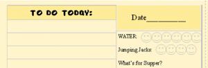 Menu Plan Monday: Fall Leaves Printable To Do List Planner