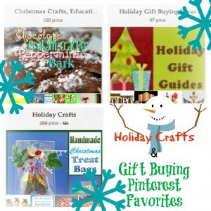 Pinterest Favorite: Holiday Crafts & Gift Buying ideas
