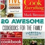 20 Awesome Cookbooks for the Family