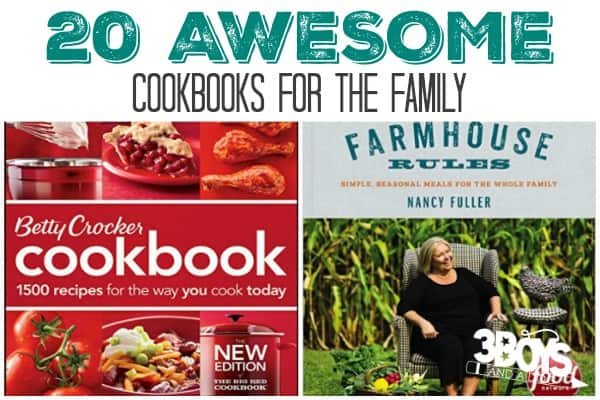 Awesome Cookbooks for the Family