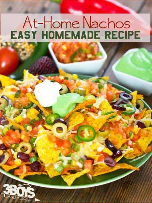 Easy At Home Nachos Recipe