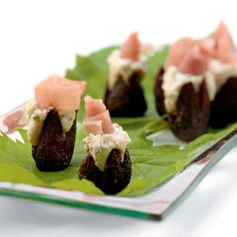 Figs Stuffed with Gorgonzola Appetizer