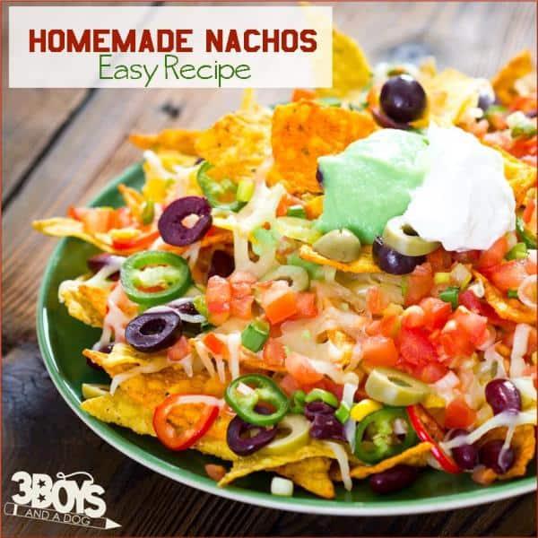 Homemade Nacho Recipe