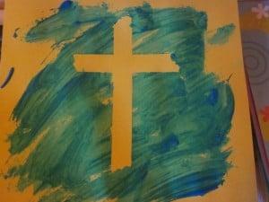 Cross for Easter