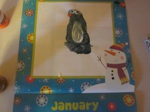 January Footprint