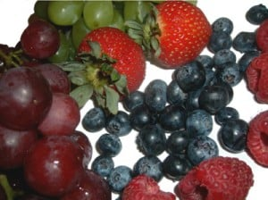 Berries are wonderful in your salad
