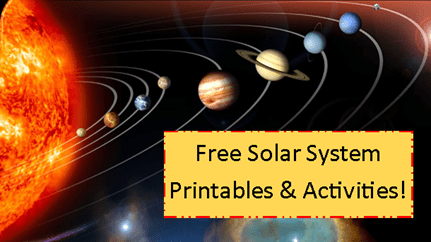 Solar System Printables & Activities