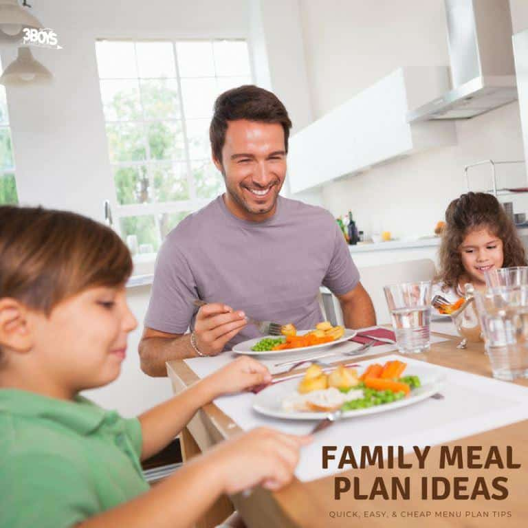 family meal plan ideas