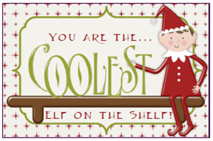 Elf on the Shelf lunchbox notes
