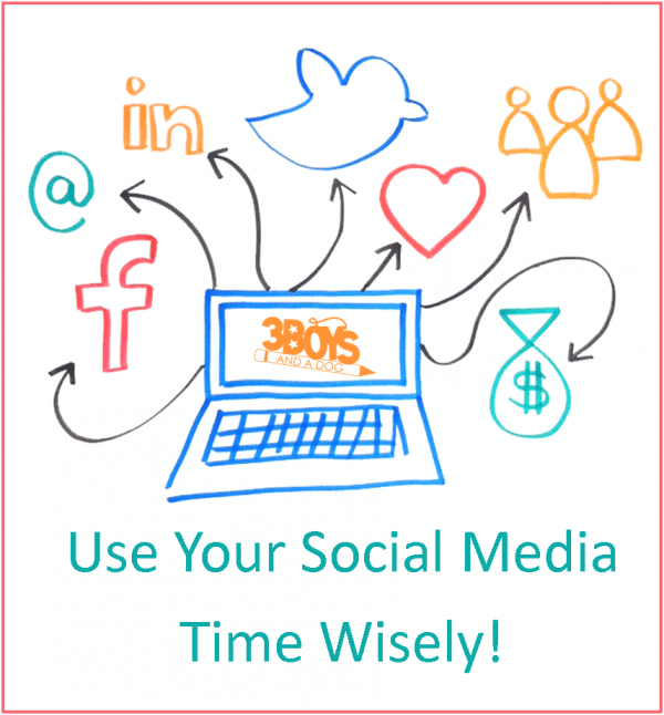 use your social media time wisely